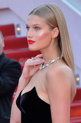 Toni Garrn at the 'Loving' screening during The 69th Annual Cannes Film Festival on May 16, 2016 in Cannes, France.<br /> CAP/LAF<br /> &copy;Lafitte/Capital Pictures /MediaPunch ***NORTH AND SOUTH AMERICA ONLY***