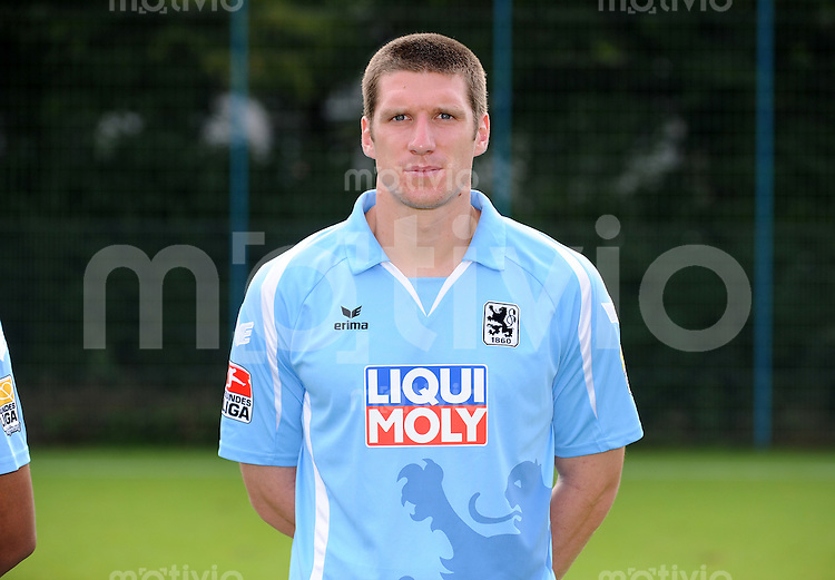 2. Fussball Bundesliga :  Saison   2009/2010   18.08..2009 Fototermin bei TSV 1860 Muenchen  Kenny Cooper ( 1860 Muenchen)