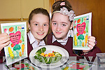 LAUNCH: Megan Oxford and Shauna Dineen-Higgins with the new healthy recipes book which was launched at Glenderry NS on Friday.
