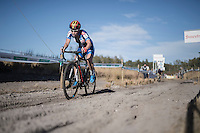 race leader Sanne Cant (BEL/Enertherm-Beobank)<br /> <br /> CX Superprestige Zonhoven 2016