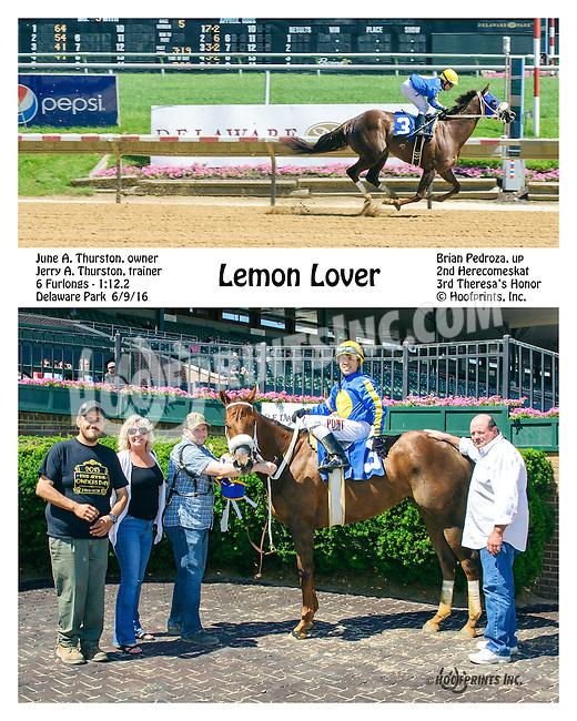 Lemon Lover winning at Delaware Park on 6/9/16
