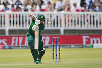 Imam-ul-Haq (Pakistan) pushes into the off side for a single during Pakistan vs Bangladesh, ICC World Cup Cricket at Lord's Cricket Ground on 5th July 2019