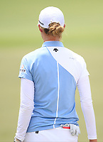 Nelly Korda (USA) in action on the 18th during Round 1 of the HSBC Womens Champions 2018 at Sentosa Golf Club on the Thursday 1st March 2018.<br /> Picture:  Thos Caffrey / www.golffile.ie<br /> <br /> All photo usage must carry mandatory copyright credit (&copy; Golffile | Thos Caffrey)