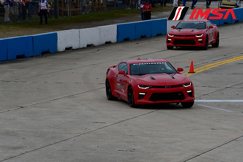 16-19 March, 2016, Sebring, Florida USA<br /> Camaro Pace Cars<br /> &copy;2016, Richard Dole<br /> LAT Photo USA