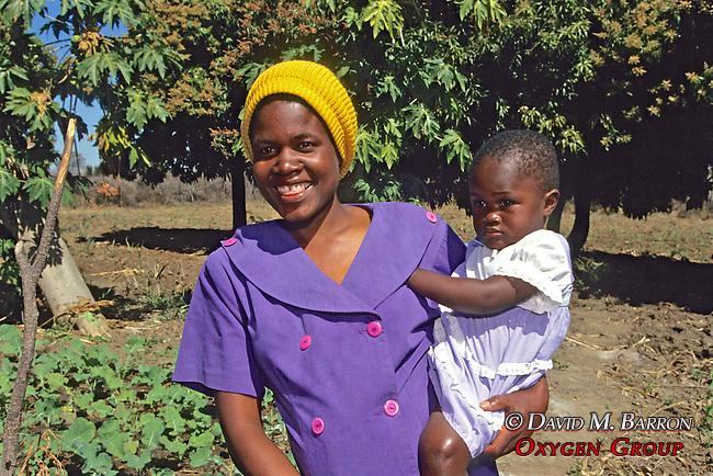 Woman & Toddler