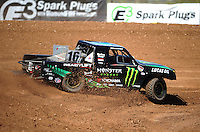 Apr 15, 2011; Surprise, AZ USA; LOORRS driver Cameron Steele (16) during round 3 and 4 at Speedworld Off Road Park. Mandatory Credit: Mark J. Rebilas-.