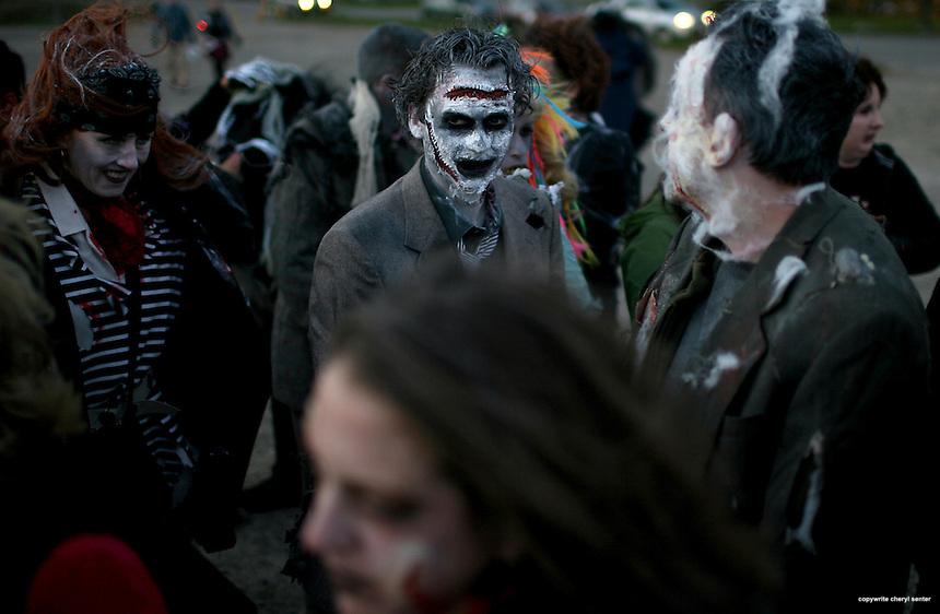 Portsmouth Halloween Parade in Portsmouth, N.H. Sunday, Oct. 31,  2010.  (Portsmouth Herald Photo Cheryl Senter)