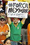 Brazil fans (BRA), JULY 5, 2014 - Football / Soccer : FIFA World Cup Brazil 2014 quarter-finals match between Netherlands 0(4-3)0 Costa Rica at Arena Fonte Nova stadium in Salvador, Brazil.<br /> (Photo by AFLO)