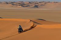 12th January 2020, Riyadh, Saudi Arabia;  22 Caimi Franco (arg), Yamaha, Yamalube Yamaha Official Rally Team, during Stage 7 of the Dakar 2020 between Riyadh and Wadi Al-Dawasir, 741 km - SS 546 km, in Saudi Arabia - Editorial Use