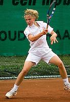 13-08-11, Tennis, Hillegom, Nationale Jeugd Kampioenschappen, NJK, Olger van Gent