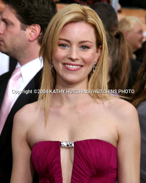 ©2003 KATHY HUTCHINS /HUTCHINS PHOTO.10TH ANNUAL SCREEN ACTORS GUILD AWARDS.SHRINE AUDITORIUM.LOS ANGELES, CA.FEBRUARY 22, 2004..ELIZABETH BANKS