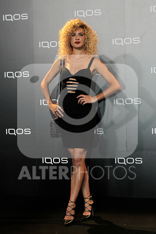 Sheila Casas attends to IQOS3 presentation at Palacio de Cibeles in Madrid. February 10,2019. (ALTERPHOTOS/Alconada)