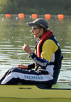 Caversham, Reading, GBR M8+ cox Acer NETHERCOTT, GB Rowing Team Training at Redgrave Pinsent Lake, Engand [Credit Peter Spurrier/Intersport Images]  [Mandatory Credit, Peter Spurier/ Intersport Images]. , Rowing course: GB Rowing Training Complex, Redgrave Pinsent Lake, Caversham, Reading