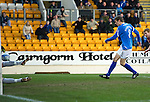 St Johnstone v Brechin...07.01.12  Scottish Cup Round 4.Murray Davidson makes it 1-0 to saints.Picture by Graeme Hart..Copyright Perthshire Picture Agency.Tel: 01738 623350  Mobile: 07990 594431