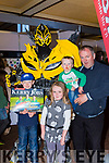 Bumblebee met Anthony, Donna, Daniel and Michael Diggin Dooks  at the Kerry Expo in the INEC on Sunday