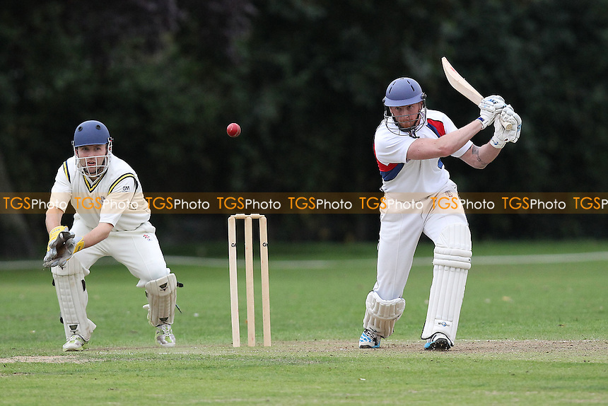 Hornchurch Athletic CC vs Brookweald CC - Mid-Essex Cricket League at Hylands Park - 30/08/14 - MANDATORY CREDIT: Gavin Ellis/TGSPHOTO - Self billing applies where appropriate - contact@tgsphoto.co.uk - NO UNPAID USE