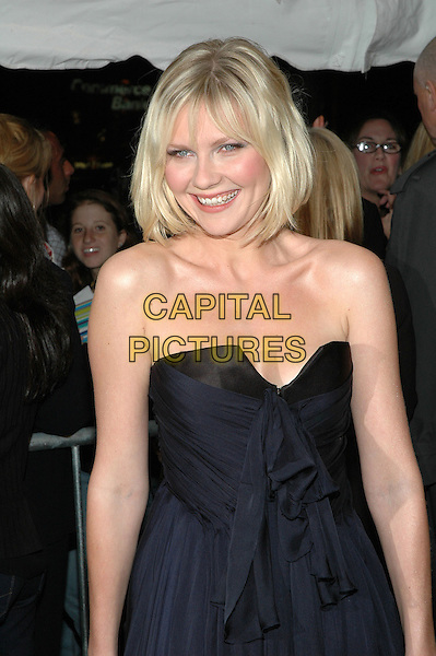 "KIRSTEN DUNST.Premiere of ""Elizabethtown"", at the Loews Lincoln Square Theater in Manhattan, New York, New York ..October 10th, 2005.Photo Credit: Patti Ouderkirk/AdMedia/Capital Pictures.Ref: PO/ADM/CAP.half length black strapless .www.capitalpictures.com.sales@capitalpictures.com.© Capital Pictures."