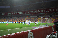 15th March 2020, Istanbul, Turkey;  Atmosphere of an empty Turk Telekom Stadium before the Turkish Super league football match between Galatasaray and Besiktas at Turk Telkom Stadium in Istanbul , Turkey on March 15 , 2020.