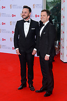 WWW.ACEPIXS.COM<br /> <br /> <br /> London, England, MAY 14 2017<br /> <br /> Ant and Dec attending the Virgin TV BAFTA Television Awards at The Royal Festival Hall on May 14 2017 in London, England.<br /> <br /> <br /> <br /> Please byline: Famous/ACE Pictures<br /> <br /> ACE Pictures, Inc.<br /> www.acepixs.com, Email: info@acepixs.com<br /> Tel: 646 769 0430