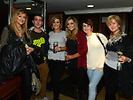 Deidre Power, Carlos Hartwick, Aisling Power, Maire Ryan, Alana Doak and Gabby Hoban pictured at Integral christmas party in McHugh's. Photo:Colin Bell/pressphotos.ie