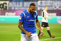 Terrence Boyd (SV Darmstadt 98) schreit seinen Frust nach verpasster Chance herau - 17.11.2017: SV Darmstadt 98 vs. SV Sandhausen, Stadion am Boellenfalltor, 2. Bundesliga