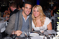 US Gold Medal Gymnast Danell Leyva and Loriet Bernal attend The Boys and Girls Club of Miami Wild About Kids 2012 Gala at The Four Seasons, Miami, FL on October 20, 2012