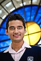 Photos for Kingston University  London international student brochures and prospectuses.??Profile portrait of Ashish Patel (India).??Date Taken: 19/04/10??Location: ??Contact:??Commissioned by:  Kingston University - Emma Carlino?Emma Carlino.International Marketing Communications Manager.International Centre.Kingston University London.Swan Wing, River House.53-57 High Street.Kingston upon Thames.London.KT1 1LQ.UK.Tel: +44(0)20 8417 3006.Fax: +44(0)20 8417 3028.Email: e.carlino@kingston.ac.uk.Website: www.kingston.ac.uk/international