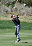 August 5, 2012: Alexandre Rocha from Sao Paulo, Brazil swings from the 2nd fairway during the final round of the 2012 Reno-Tahoe Open Golf Tournament at Montreux Golf & Country Club in Reno, Nevada.