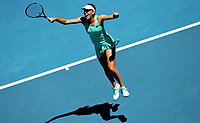 MELBOURNE,AUSTRALIA,23.JAN.18 - TENNIS - WTA Tour, Grand Slam, Australian Open. Image shows the rejoicing of Elise Mertens (BEL). Photo: GEPA pictures/ Matthias Hauer / Copyright : explorer-media