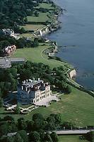 The Breakers, aerial view, Newport, RI