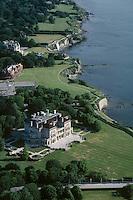 The Breakers, aerial view, Newport, RI