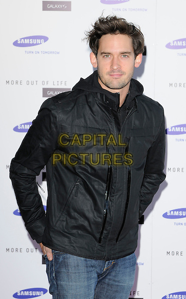 WILL KEMP .attends the launch of the Samsung Galaxy S Smartphone held at Altitude Bar, London, England, UK, .June 15th, 2010. .half length black jacket jeans .CAP/CAN.©Can Nguyen/Capital Pictures.