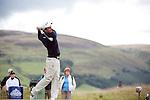 Pic Kenny Smith...... Tel 07809 450119.Johnnie Walker Championship, PGA Course Gleneagles, Day 2..Edoardo Molinari tees off at the 4th