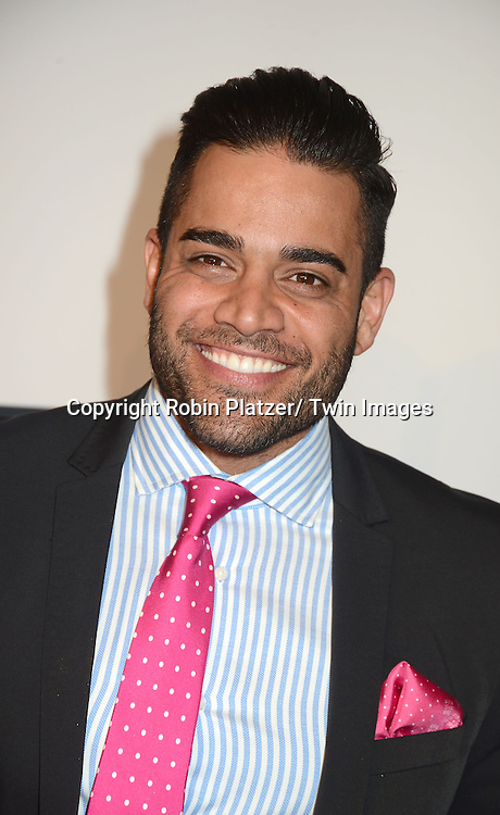 Mike Shouhed arrives at the Bravo 2013  Upfront on April 3, 2013 at Pillars 37 Studio in New York City.