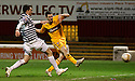 MOTHERWELL'S JAMIE MURPHY SCORES MOTHERWELL'S THIRD GOAL..07/01/2012 sct_jsp012_motherwell_v_queens_park     .Copyright  Pic : James Stewart.James Stewart Photography 19 Carronlea Drive, Falkirk. FK2 8DN      Vat Reg No. 607 6932 25.Telephone      : +44 (0)1324 570291 .Mobile              : +44 (0)7721 416997.E-mail  :  jim@jspa.co.uk.If you require further information then contact Jim Stewart on any of the numbers above.........