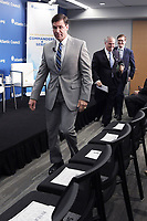 Washington, DC - May 17, 2019: Secretary of the United States Army Mark T. Esper arrives for a panel discussion at the Atlantic Council, May 17, 2019.  (Photo by Lenin Nolly/Media Images International)