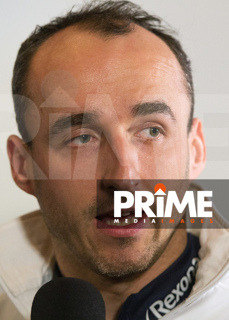 Robert Kubica during the Williams F1 Launch of the new FW41 at the Village Underground, London, England on 15 February 2018. Photo by Vince Mignott.