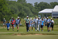 Billy Horschel (USA) leads the pack down 2 during round 2 of the AT&amp;T Byron Nelson, Trinity Forest Golf Club, at Dallas, Texas, USA. 5/18/2018.<br /> Picture: Golffile | Ken Murray<br /> <br /> <br /> All photo usage must carry mandatory copyright credit (&copy; Golffile | Ken Murray)