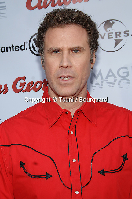Will Ferrell arriving at the CURIOUS GEORGE Premiere at the Arclight Theatre in Los Angeles. January 28, 2006.