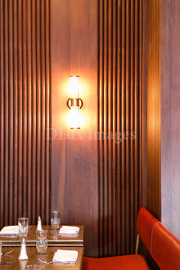 restaurant dining table Sant Ambroeus Soho