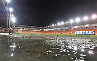 A general view of Bloomfield Road, home of Blackpool<br /> <br /> Photographer Dave Howarth/CameraSport<br /> <br /> The EFL Sky Bet League One - Blackpool v Wycombe Wanderers - Tuesday 29th January 2019 - Bloomfield Road - Blackpool<br /> <br /> World Copyright © 2019 CameraSport. All rights reserved. 43 Linden Ave. Countesthorpe. Leicester. England. LE8 5PG - Tel: +44 (0) 116 277 4147 - admin@camerasport.com - www.camerasport.com