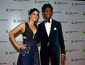 Musician Jon Batiste and Suleika Jaouad arrive for the formal Artist's Dinner honoring the recipients of the 41st Annual Kennedy Center Honors hosted by United States Deputy Secretary of State John J. Sullivan at the US Department of State in Washington, D.C. on Saturday, December 1, 2018. The 2018 honorees are: singer and actress Cher; composer and pianist Philip Glass; Country music entertainer Reba McEntire; and jazz saxophonist and composer Wayne Shorter. This year, the co-creators of Hamilton, writer and actor Lin-Manuel Miranda, director Thomas Kail, choreographer Andy Blankenbuehler, and music director Alex Lacamoire will receive a unique Kennedy Center Honors as trailblazing creators of a transformative work that defies category.<br /> Credit: Ron Sachs / Pool via CNP