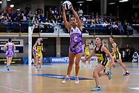 Stars' Holly Fowler in action during the ANZ Premiership - Pulse v Stars at Te Rauparaha Arena, Porirua, New Zealand on Wednesday 3 April 2019. <br /> Photo by Masanori Udagawa. <br /> www.photowellington.photoshelter.com