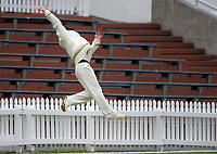 Day one of the Plunket Shield cricket match between Wellington Firebirds and Central Stags in Wellington, New Zealand on Wednesday, 17 March 2018. Photo: Dave Lintott / lintottphoto.co.nz