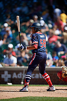 Mario Zabala (58) during the Under Armour All-America Game, powered by Baseball Factory, on July 22, 2019 at Wrigley Field in Chicago, Illinois.  Mario Zabala attends International Baseball Academy in San Juan, Puerto Rico and is committed to Florida International University.  (Mike Janes/Four Seam Images)