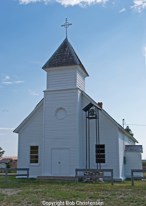 Old Churches in Montana