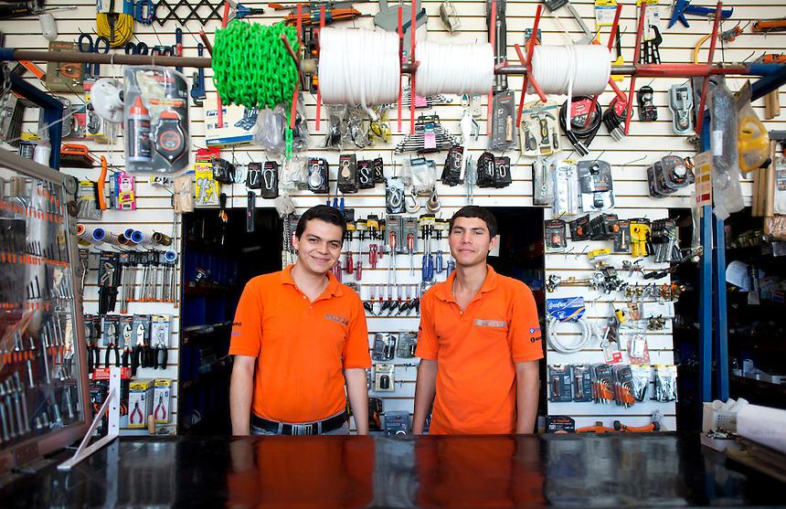 Jorge Luis Beltran Vargas and Elmer Enrique Picos Sarabia. Hardware store owners in Culiacan, Sinaloa,  Mexico