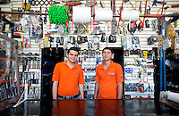 Jorge Luis Beltran Vargas and Elmer Enrique Picos Sarabia. Hardware store owners in Culiacan, Sinaloa,  Mexico