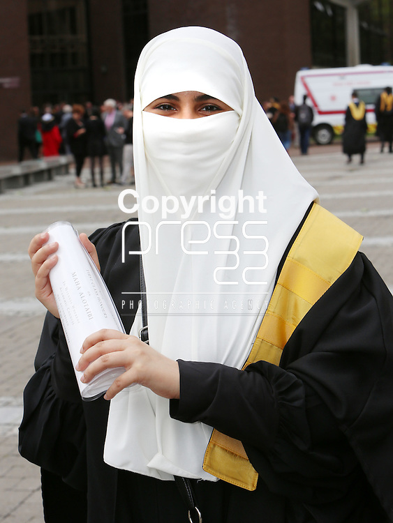 28/8/2014  Attending the University of Limerick conferrings on Thursday afternoon weas Maha Alotaibi, Henry St., Limerick who was conferred with a HDip. Science &amp; Engineering with First Class Honours and with English as a Foreign Language.<br /> Picture Liam Burke/Press 22