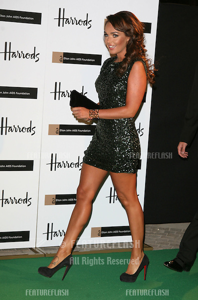 Tamara Ecclestone arriving at The Emerald Ball in aid of The Elton John AIDS Foundation at Harrods. 05/11/2009   Alexandra Glen / Featureflash